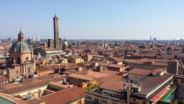 Bologna, Italy landscape