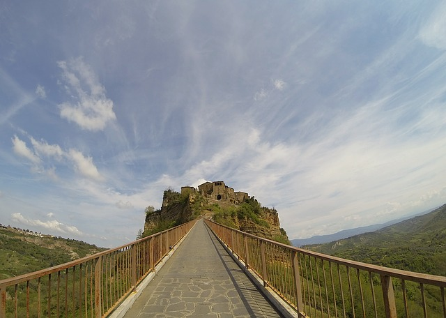 Civita the view