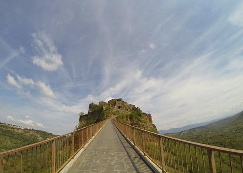 Civita the view