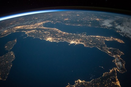 Italy from the International Space Station