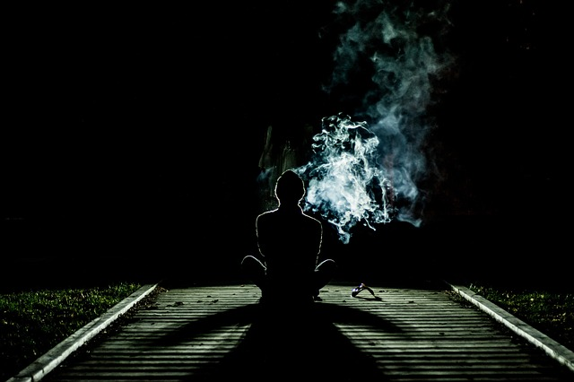 lonely smoker