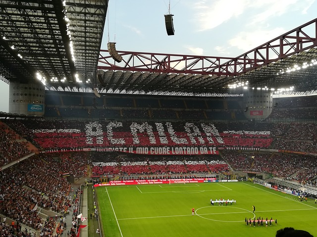 Milan supporters