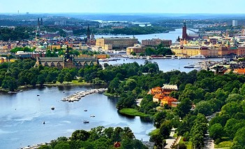 Stockholm and its majestic nature