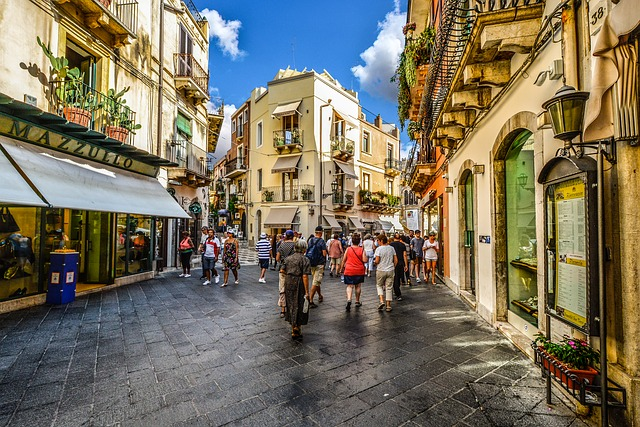 taormina shopping