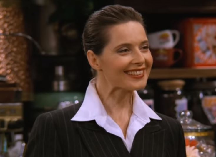 Friends Season 3 Episode 5, Isabella Rossellini cameo