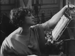 a scene from ''Malombra'' (1917) Lyda Borelli